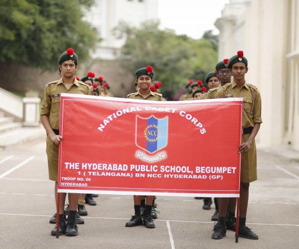 NCC – The Hyderabad Public School