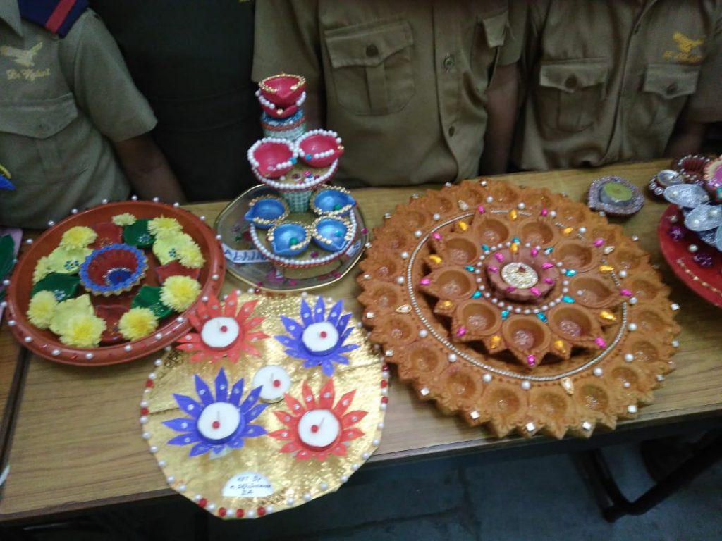 Diya Decoration Competition The Hyderabad Public School
