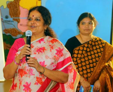 9.Mrs. Amritha,the vice principal with her query