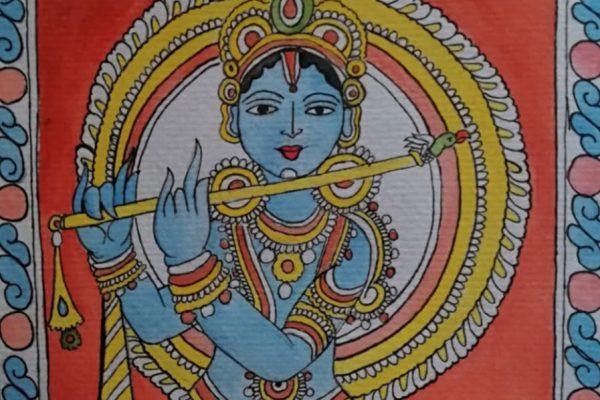 Tanvi 12 C Kalamkari painting