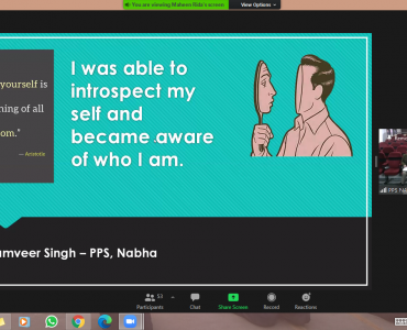 Students from Punjab talk about their self-awareness